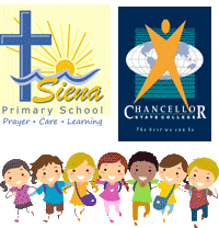 Siena & Chancellor Primary Trek to School Tuesday